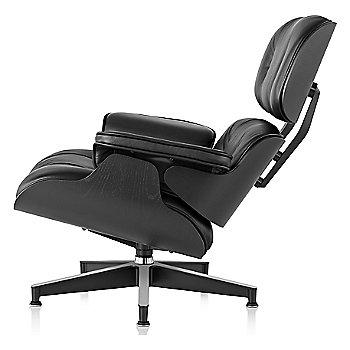 Eames Lounge Chair - Ebony, left veiw