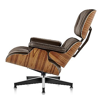 Shown in MCL Leather Espresso fabric with Santos Palisander frame finish, Tall
