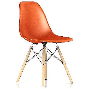 Red Orange / Trivalent Chrome base / Natural Maple leg finish