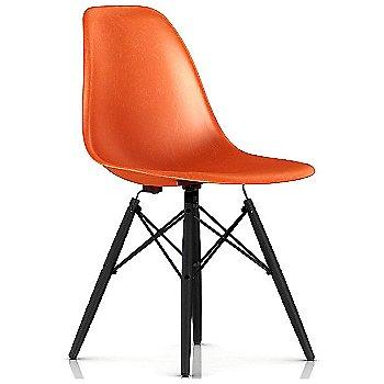 Red Orange / Black base / Ebony leg finish