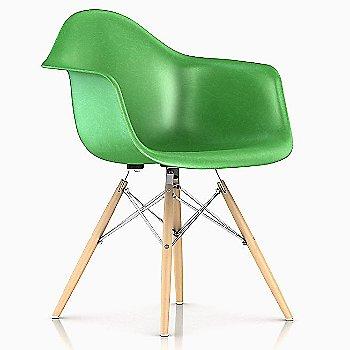 Green / Trivalent Chrome Base finish / Natural Maple Leg finish