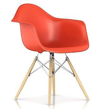 Red Orange / Trivalent Chrome Base Finish / White Ash Leg finish