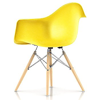Lemon Yellow / Trivalent Chrome Base Finish / Natural Maple Leg Finish