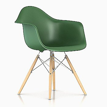 Trivalent Chrome/ Natural Maple finish / Kelly Green Color