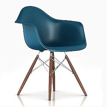 Trivalent Chrome/ Walnut finish / Peacock Blue Color