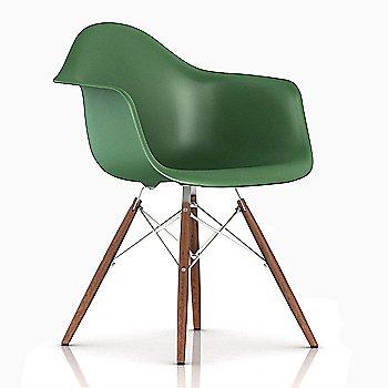 White/ Walnut finish / Kelly Green Color