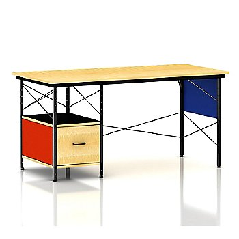 Shown in Multi-Color finish with Black frame finish, Left-Hand File Drawer