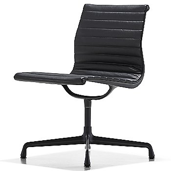 Shown in 2100 Leather Black with No Arms