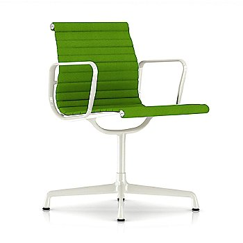 Shown in Neon fabric with White base finish with Arms