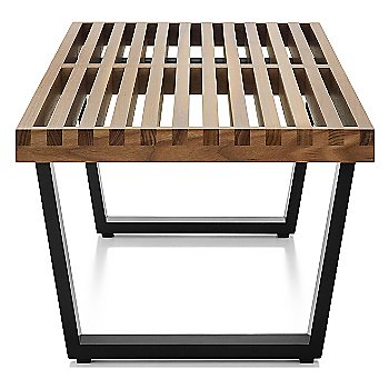 Shown in Walnut finish with Ebonized Wood base finish, Small / 48-In. Wide