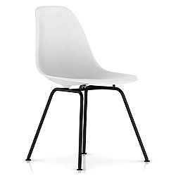 Eames Molded Plastic Side Chair - 4 Leg Base