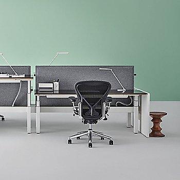 Graphite/Polished Aluminum base finish