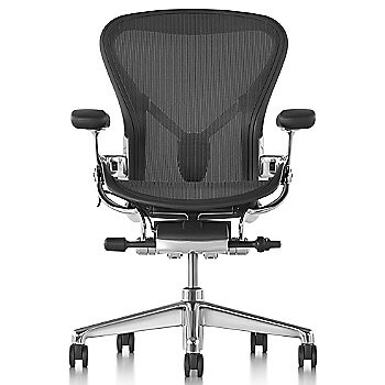 Graphite/Polished Aluminum finish with Adjustable Posture Fit SL