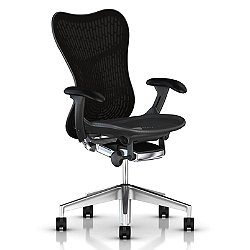 Mirra 2 Office Chair, Butterfly Back with Fixed Arms