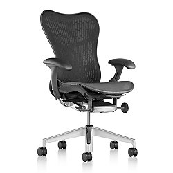 Mirra 2 Office Chair, Butterfly Back with Fixed Arms - Lumbar Support