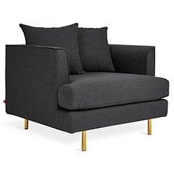 Margot Chair - Oxford Zinc