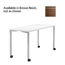 Everywhere Rectangular Table (Brown/60 inx30 in) - OPEN BOX