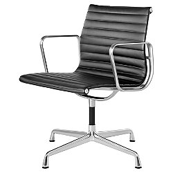 Eames Aluminum Group Side Chair(Polished Aluminum)-OPEN BOX