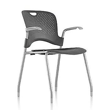 Metallic Silver Frame Finish /  Graphite Seat/Back Finish / Fog Arm Finish