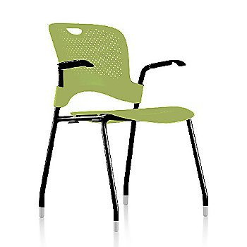 Black Frame Finish /  Green Apple Seat/Back Finish / Black Arm Finish