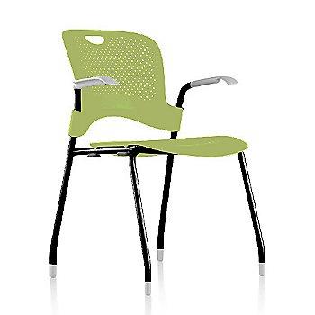 Black Frame Finish /  Green Apple Seat/Back Finish / Fog Arm Finish