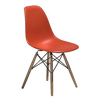 Eames Molded Plastic Side Chair with Dowel-Leg Base