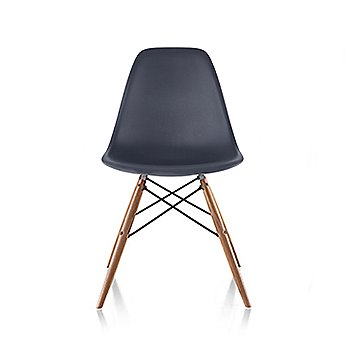 Chair in Charcoal / Maple Legs