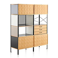Eames Storage Units, 4-Units High