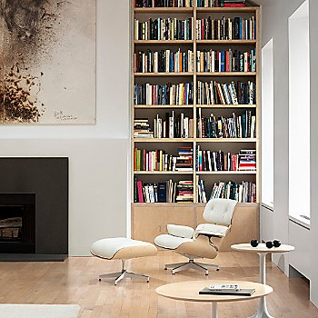 Eames Lounge and Ottoman, at home
