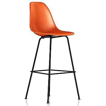 Bar Height size / Red Orange / Black finish