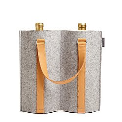 Duo Felt Wine Carrier