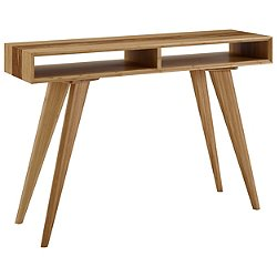 Azara Tiger Console Table with Exotic Tiger Inlay