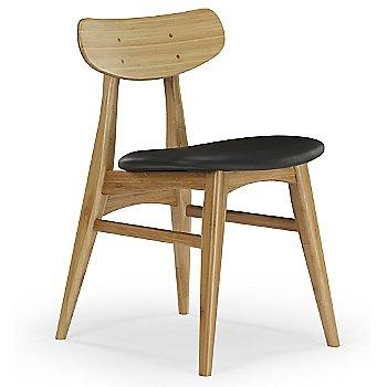 Caramelized Wood and Leather Seat finish