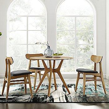 Caramelized Wood and Leather Seat finish / Group shot