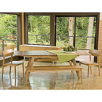 In use with Currant Chair and Bench (sold separately)