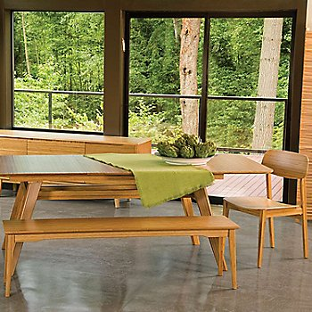 Shown in use with the Currant Extendable Dining Table and Currant Dining Chair (sold separately)