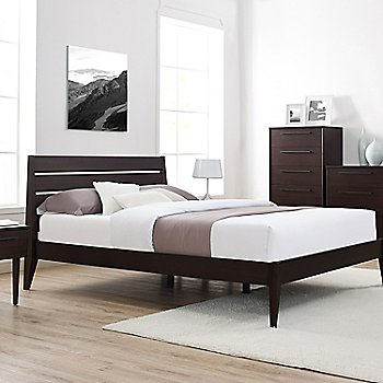 Sienna Platform Bed, Sienna Nightstands, 6 Drawer Dresser (sold separately)