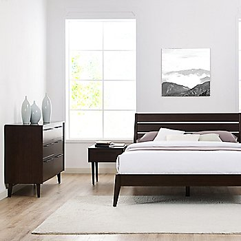 Lifestyle, shown with Sienna Platform Bed and Sienna Nightstand (sold separately)