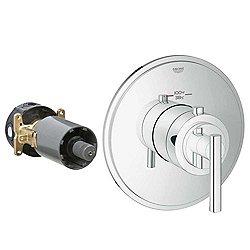 Atrio Custom Shower Thermostatic Trim