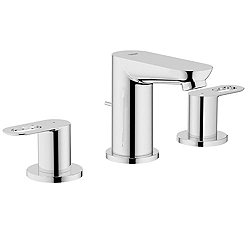 Bauloop Three-Hole Basin Mixer