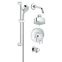 GrohFlex Shower Set Timeless Dual Function PBV