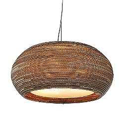 Ohio Scraplight Natural Pendant Light