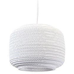 Ausi Scraplight White Pendant Light (Medium) - OPEN BOX RETURN