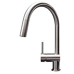 Vela Kitchen Faucet Stainless Steel