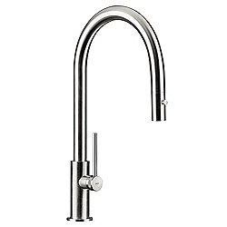 Spin D Kitchen Faucet Stainless Steel