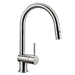 Vela D Kitchen Faucet Stainless Steel