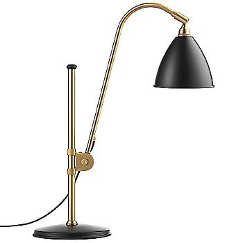 Shown in Brass with Charcoal Black finish