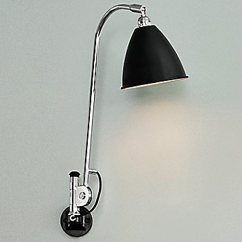 Shown in Chrome with Black finish