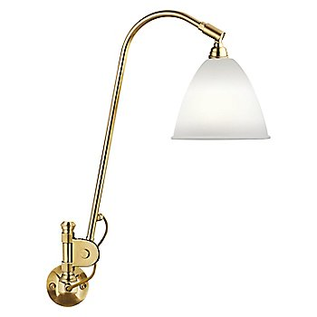 Shown in Brass with Bone China finish