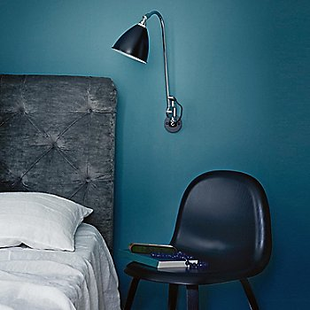 Black Stained Beech pictured with the Bestlite BL5 Wall Sconce